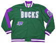 Milwaukee Bucks Mitchell & Ness NBA Authentic 96-97 Warmup Premium Jacket