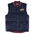 "Cleveland Cavaliers Mitchell & Ness NBA ""Tip Off"" Throwback Snap Vest Jacket"