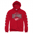 """Detroit Red Wings Mitchell & Ness NHL """"To The Wire"""" Pullover Hooded Sweatshirt"""