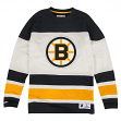 "Boston Bruins Mitchell & Ness NHL ""On the Fly"" Vintage Long Sleeve Jersey"