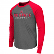 "North Carolina State Wolfpack NCAA ""Tailback"" Long Sleeve Raglan Men's T-Shirt"