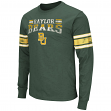 "Baylor Bears NCAA ""Gridiron"" Long Sleeve Vintage Slub Men's T-Shirt"