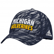 Michigan Wolverines Adidas NCAA Sideline Climalite Adjustable Slouch Hat