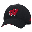 "Wisconsin Badgers Adidas NCAA ""Fan Gear"" Adjustable Slouch Hat"
