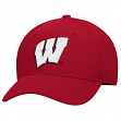 Wisconsin Badgers Adidas NCAA Performance Structured Adjustable Hat - Red