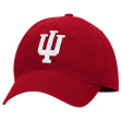 "Indiana Hoosiers Adidas NCAA ""Basic Logo"" Adjustable Slouch Hat - Red"