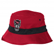 "North Carolina State Wolfpack Adidas NCAA ""Fan Gear"" Striped Bucket Hat"