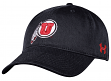 Utah Utes Under Armour NCAA Sideline Adjustable Slouch Hat