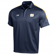 "Notre Dame Fighting Irish Under Armour ""Huddle"" Sideline Performance Polo Shirt"