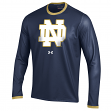 Notre Dame Fighting Irish Under Armour Huddle Up Performance Sideline L/S Shirt