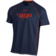 "Auburn Tigers Under Armour NCAA ""Curl Route"" Performance S/S Shirt"
