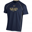 "Georgia Tech Yellowjackets Under Armour NCAA ""Curl Route"" Performance S/S Shirt"