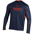 "Auburn Tigers Under Armour NCAA ""Post Route"" Performance L/S Shirt"