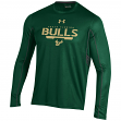 "South Florida Bulls Under Armour NCAA ""Post Route"" Performance L/S Shirt"