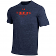 "Auburn Tigers Under Armour NCAA ""Free Safety"" Tri-Blend S/S Shirt"