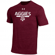 "Texas A&M Aggies Under Armour NCAA ""Free Safety"" Tri-Blend S/S Shirt"