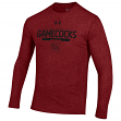 "South Carolina Gamecocks Under Armour NCAA ""Safety Blitz"" Tri-Blend L/S Shirt"