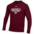 "Texas A&M Aggies Under Armour NCAA ""Safety Blitz"" Tri-Blend L/S Shirt"
