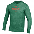 "Miami Hurricanes Under Armour NCAA ""Safety Blitz"" Tri-Blend L/S Shirt"