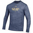 "Georgia Tech Yellowjackets Under Armour NCAA ""Safety Blitz"" Tri-Blend L/S Shirt"