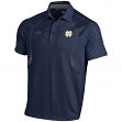 "Notre Dame Fighting Irish Under Armour NCAA ""Pass Rush"" Performance Polo Shirt"