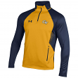 Georgia Tech Yellowjackets Under Armour NCAA Deep 1/4 Zip Performance Sweatshirt