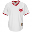 Barry Larkin Cincinnati Reds Majestic MLB Cooperstown Cool Base White Jersey