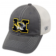 "Missouri Tigers NCAA Top of the World ""Putty"" Stretch Fit Mesh Back Hat"