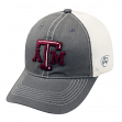 """Texas A&M Aggies NCAA Top of the World """"Putty"""" Stretch Fit Mesh Back Hat"""