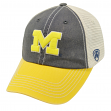 "Michigan Wolverines NCAA Top of the World ""Off Road"" Adjustable Mesh Back Hat"