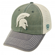 "Michigan State Spartans NCAA Top of the World ""OffRoad"" Adjustable Mesh Back Hat"