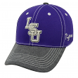 """LSU Tigers NCAA Top of the World """"High Post"""" Memory Fit Flex Hat"""