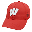 "Wisconsin Badgers NCAA Top of the World ""Jock 2"" Memory Fit Flex Hat"