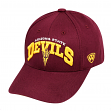 "Arizona State Sun Devils Men's NCAA Top of the World ""WHIZ"" Adjustable Hat"