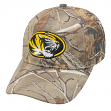 "Missouri Tigers NCAA Top of the World ""Xtra"" RealTree Camo Memory Fit Hat"