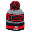 "Arizona Wildcats NCAA Top of the World ""Cumulus"" Striped Cuffed Knit Hat"