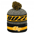 Georgia Tech Yellowjackets NCAA Top of the World Cumulus Striped Cuffed Knit Hat