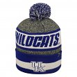 "Kentucky Wildcats NCAA Top of the World ""Cumulus"" Striped Cuffed Knit Hat"