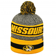 "Missouri Tigers NCAA Top of the World ""Cumulus"" Striped Cuffed Knit Hat"