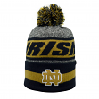 Notre Dame Fighting Irish NCAA Top of the World Cumulus Striped Cuffed Knit Hat