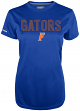 "Florida Gators Women's Majestic NCAA ""Invincible"" S/S Performance Shirt"