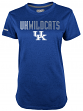 "Kentucky Wildcats Women's Majestic NCAA ""Stamina 1"" S/S Heathered Shirt"