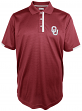 "Oklahoma Sooners Majestic NCAA ""1st Down"" Performance Polo Shirt"