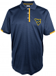"West Virginia Mountaineers Majestic NCAA ""1st Down"" Performance Polo Shirt"