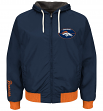 "Denver Broncos NFL G-III ""Play Action"" Reversible F/Z Hooded Sweatshirt"