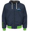 "Seattle Seahawks NFL G-III ""Play Action"" Reversible F/Z Hooded Sweatshirt"