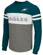 "Philadelphia Eagles Men's NFL G-III ""ERA"" Colorblocked Long Sleeve Shirt"