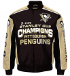 Pittsburgh Penguins Men's NHL G-III Stanley Cup Commemorative Premium Twill Jacket