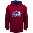 "Colorado Avalanche Youth NHL Reebok ""Primary"" Hooded Sweatshirt"