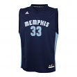 Marc Gasol Memphis Grizzlies Adidas NBA Replica Youth Jersey